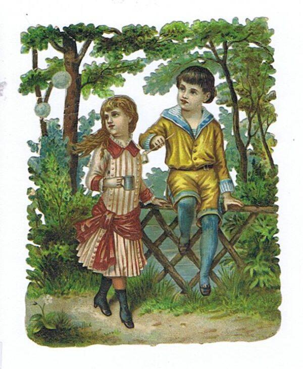 Børn leger